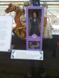 Princess Catherine Doll at the V&A Museum of Childhood in Bethnal Green.
