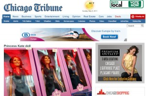 Princess Catherine Doll in the Chicago Tribune