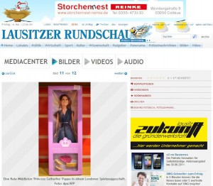 Princess Catherine Doll in the Lausitzer Rundshau