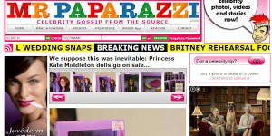 Princess Catherine Doll in Mr Paparazzi