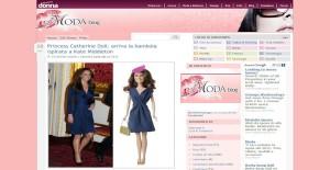 Italy: Modablog Princess Catherine Doll: arriva la bambola ispirata a Kate Middleton