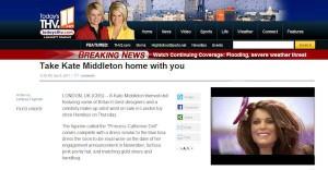 Princess Catherine Doll on CBS News